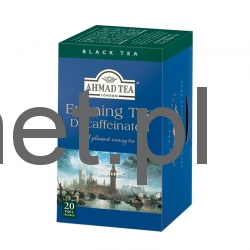 Ahmad Tea London Evening Tea Decaffeinated 20 torebek w kopertach aluminiowych