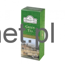 Ahmad Tea London Green Tea 25 torebek z zawieszką
