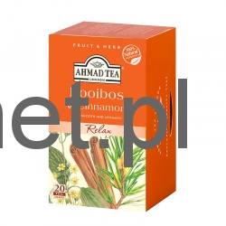 Ahmad Tea London Rooiboos Cinnamon 20 tb w Alu