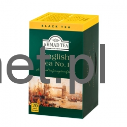 Ahmad Tea ENGLISH TEA NO.1 20tb w Alu Kopertach